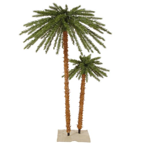 Vickerman 451656 - 4'+ 6' Outdoor Palm Tree 400 LED Lights (K169164LED)