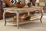 Alaterre Austerity Reclaimed Coffee Table, Driftwood