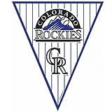 Amscan - Colorado Rockies Baseball Pennant Banner