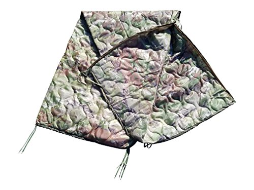 Multicam OCP Milspec Poncho Liner with zipper option (With Zipper) ()