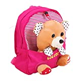 Dalino Kid's Backpack Zoo Lovely Schoolbags(Rose Red)