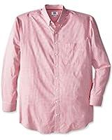 Cutter & Buck Men's Big-Tall Long Sleeve Epic Easy Care Tattersall Shirt