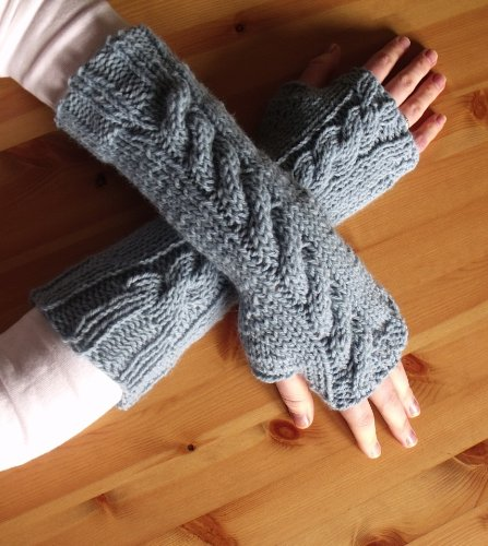 - 7 Fingerless Gloves Knitting Patterns : How To Knit Fingerless Gloves or Wrist Warmers (Easy One Day Project)