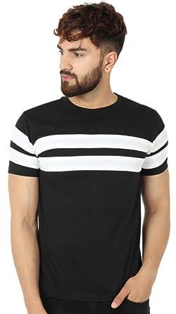 f2d94c8c2 BYC Men's Half Sleeve Line Up Tshirt for Mens/Tshirt for Mens/Mens Tshirt