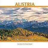 Austria Calendar 2017: 16 Month Calendar