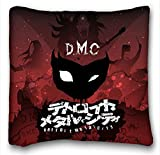Custom Cotton & Polyester Soft ( Anime Detroit Metal City ) Pillowcase Cushion Cover Design Standard Size 16x16 inches One Sides suitable for King-bed PC-White-12496