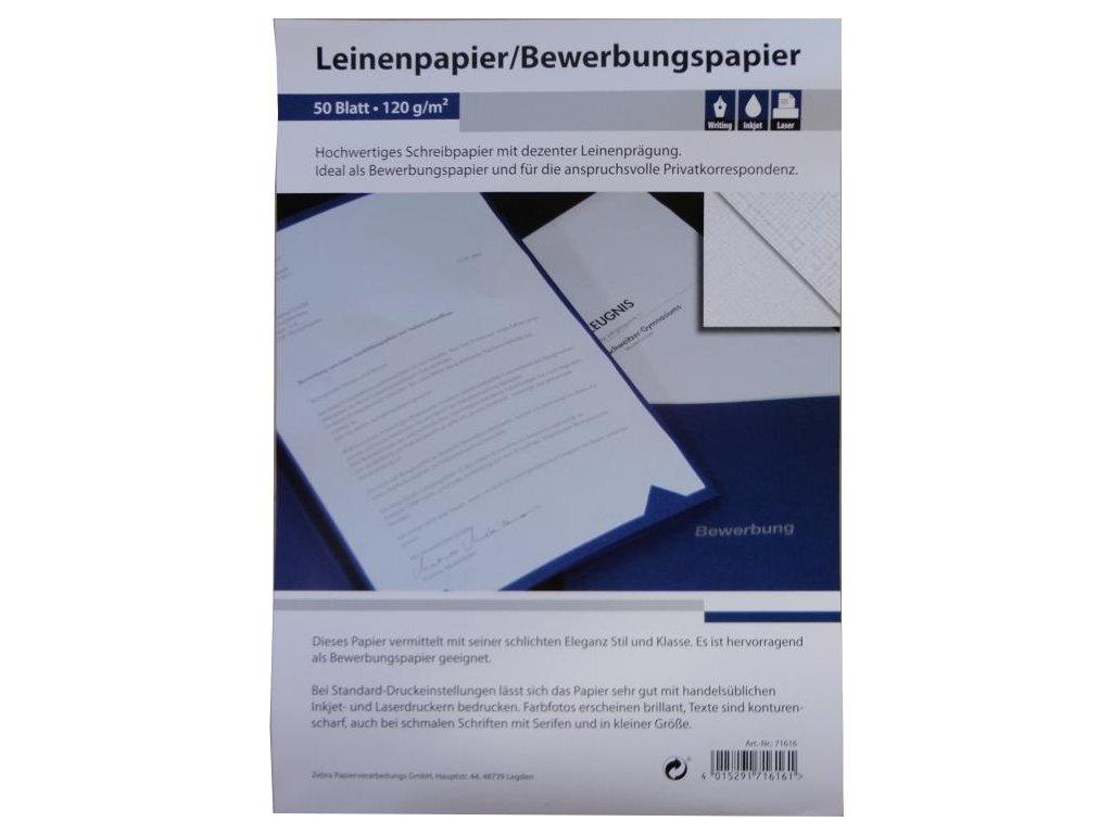 300 (6x 50) Blatt Leinenpapier 120g/m² DIN A4 ideal für Bewerbung:  Amazon.de: Bürobedarf & Schreibwaren