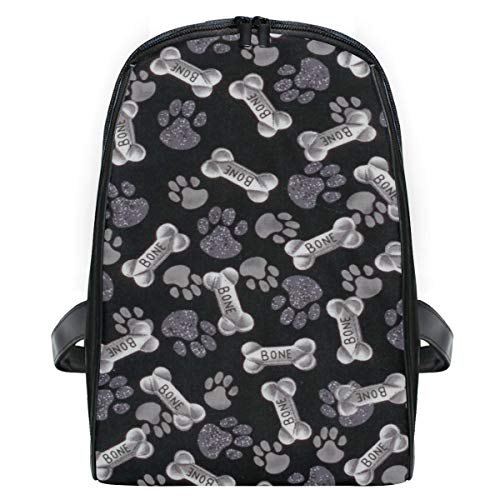 Bone Dog Paw Print School Backpack For Boys Kids Primary School Bags Children Backpacks