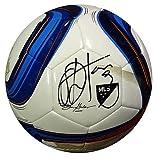 Obafemi Martins Signed Adidas Nativo Soccer Ball Seattle Sounders - Sports Memorabilia