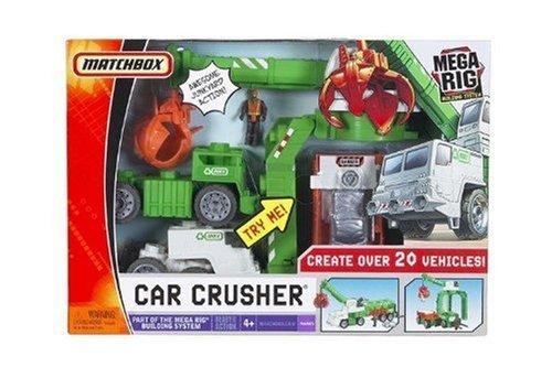 Matchbox Mega Rig Car Crusher Building System by Matchbox