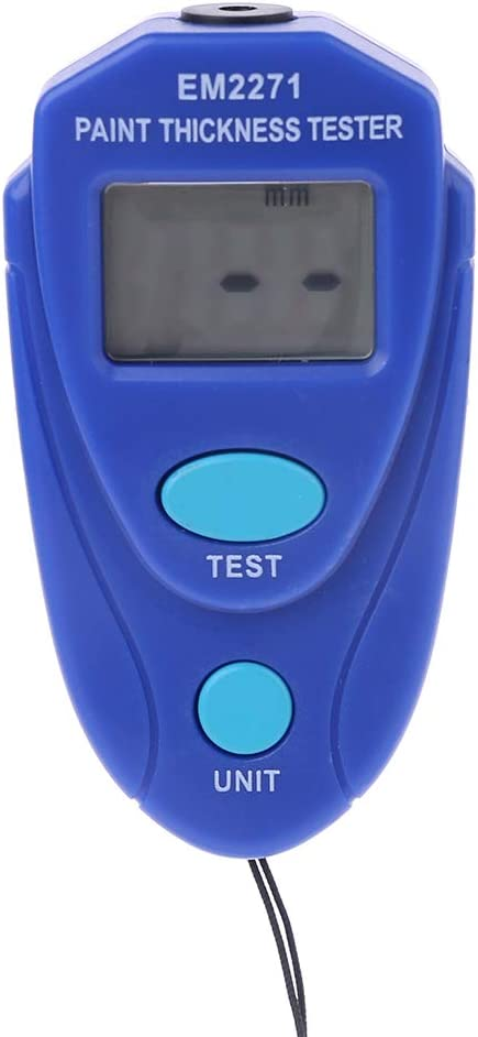 BIlinli EM2271 Digital Mini Dickenmessger/ät Autolack Tester Dickenmessger/ät Schichtdickenmessger/ät