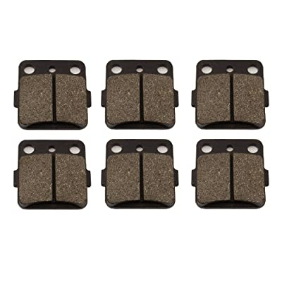 Front and Rear Brake Pads for Honda Fourtrax TRX300EX TRX 300 X 1993-2008: Automotive