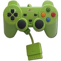 Controle com Fio para PS2 Feir - Verde - FR-206