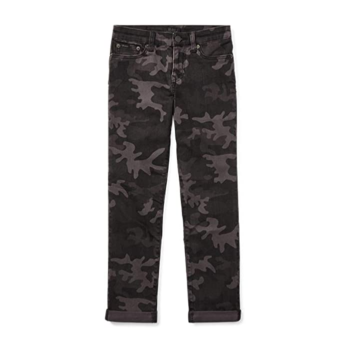 f2f96f0b Amazon.com: RALPH LAUREN Polo Boys Eldridge Camo Skinny Stretch ...
