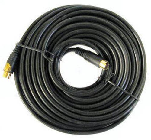BattleBorn 50 Foot S-Video Cable 50' ft M-M Male to Male PC Video New by BattleBorn
