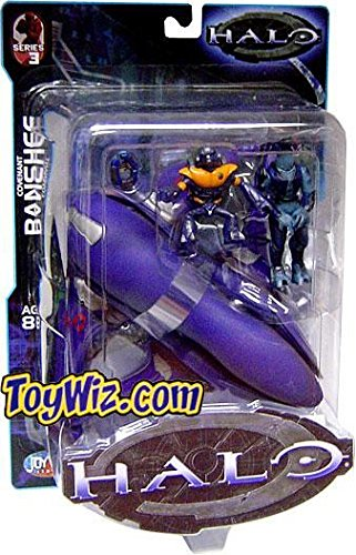 Series Halo Joyride - Halo Covenant Banshee with Elite and Grunt Bungie Joyride Series 3