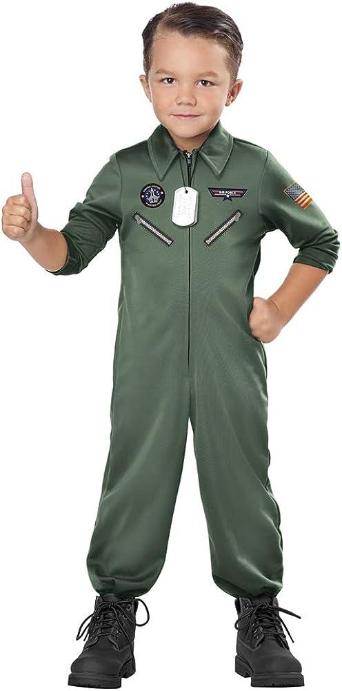 Toddler Jr. Jet Pilot Top Gun Costume