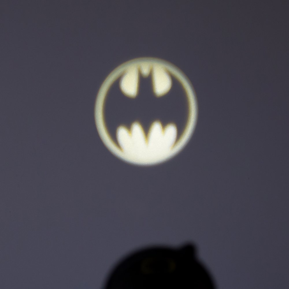 Kurt Adler, Batman Bat señal Proyector, Negro, 14