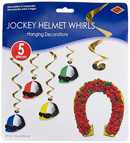 Derby Day Whirls   (5/Pkg) -