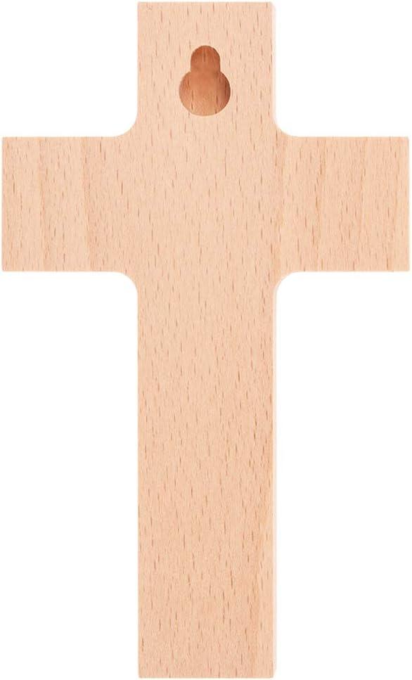 Nacimiento Fritz Cox/® Cruz para ni/ños Env/ía mi /ángel El regalo especial para nuestros seres queridos y una bonita cruz para cualquier habitaci/ón infantil 15 cm