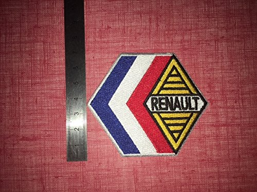 ECUSSON PATCHES AUFNAHER TOPPA - RENAULT - THERMOCOLLANT BLUE HAWAI