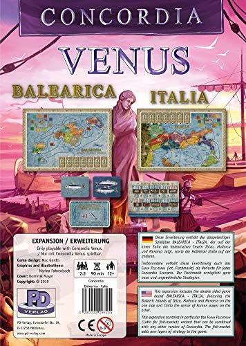 Rio Grande Games Concordia: Balearica/Italia: Amazon.es: Juguetes y juegos