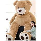 ぬいぐるみ 特大 くま/テディベア 可愛い熊 動物 大きい くまぬいぐるみ/熊縫い包み/クマ抱き枕/お祝い/ふわふわぬいぐるみ (160CM, 画像通り)