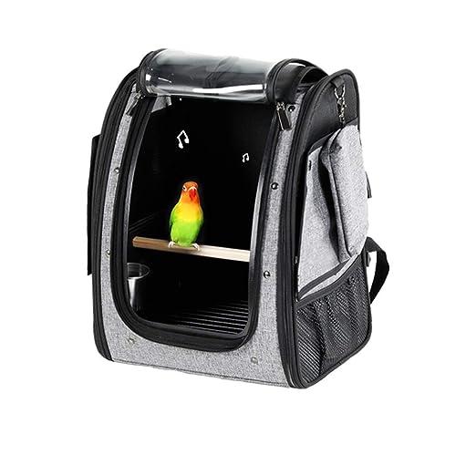 Bolsa de viaje para mascotas Comfort Birdcage del pájaro del loro ...