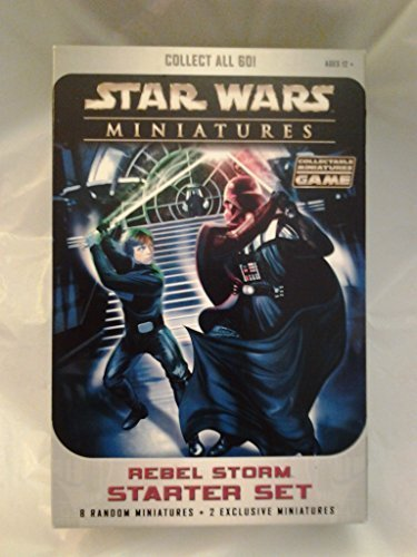 Star Wars Miniatures Rebel Storm Starter Set from Wizards of the Coast