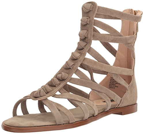 kensie Women's Macklin Gladiator Sandal Taupe