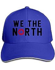 Toronto Raptors Basketball WE THE NORTH Maple Leaf Sandwich Baseball Hats For Men Women White (8 Colors)