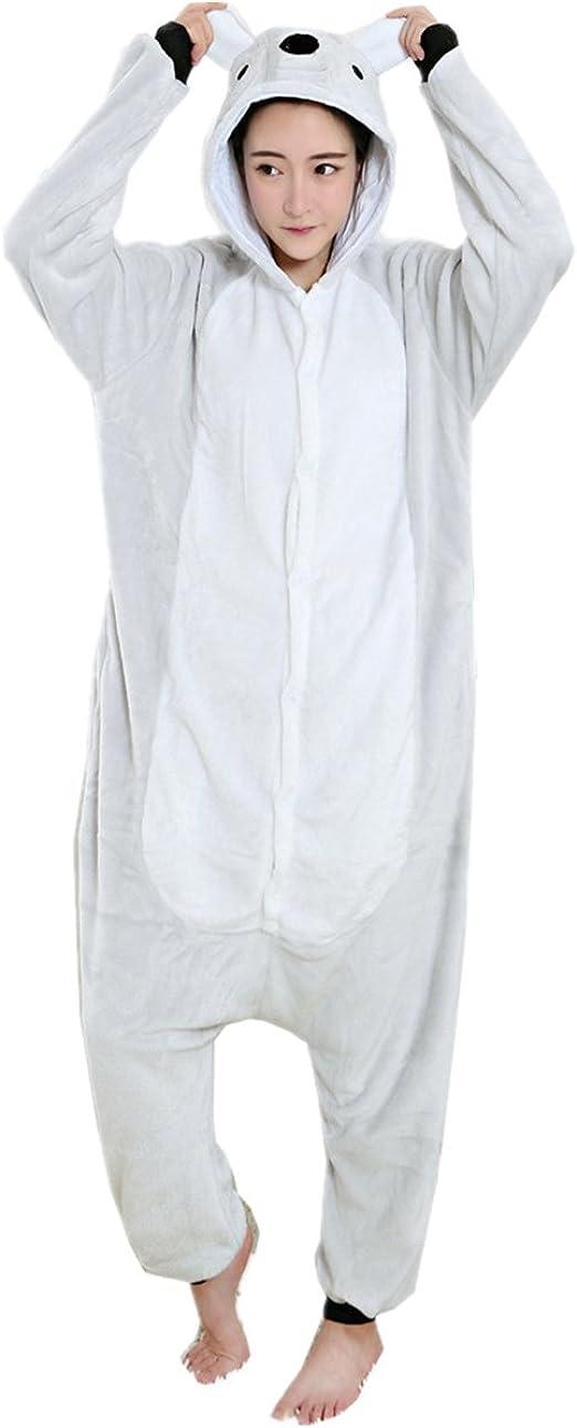Mizhome - Pijama de una única pieza y disfraz de cosplay de koala ...