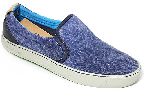 Chaussures Satorisan Slip On Man Art Bleu Soumei. 161007 Minuit