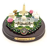 "Oval Washington, D.C. Monuments Desk Statue (5"")"