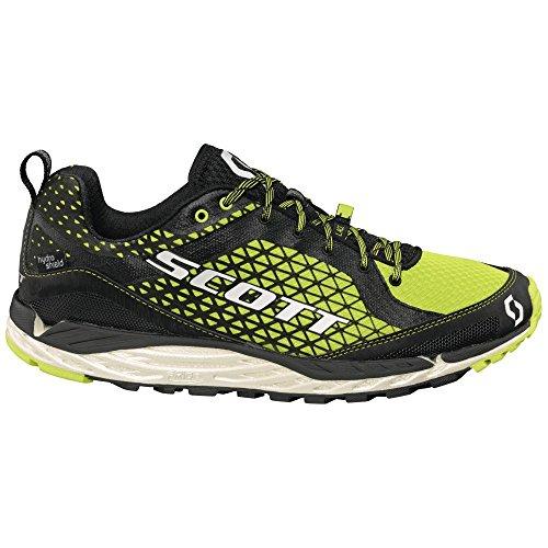 Scott Kinabalu T2 HS Trail Running Shoes Black/Green Mens UK 10