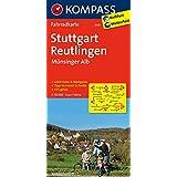 Stuttgart - Reutlingen - Münsinger Alb: Fahrradkarte. GPS-genau. 1:70000 (KOMPASS-Fahrradkarten Deutschland, Band 3107)