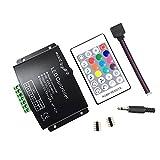 HUALAND RF RGBW 24 Key Music Controller (12A) for 5050 3528 LED Strip Module RF Remote 12~24V