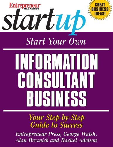Best buy Start Your Own Information Consultant Business: Your Step-By-Step Guide to