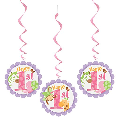 Hanging Safari First Birthday Decorations