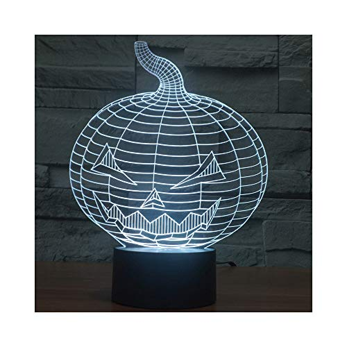 Halloween Pumpkin Gift Ideas Lights 3D Night Lights Romantic -