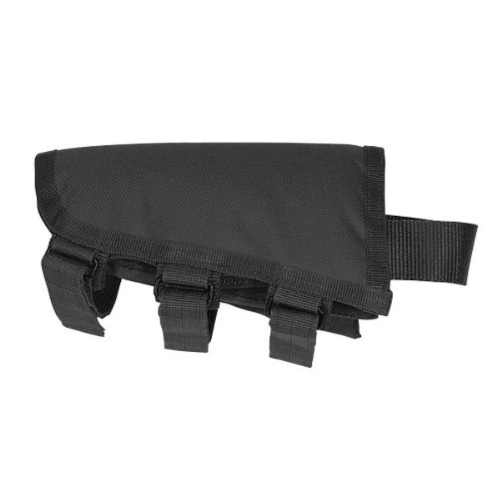 Voodoo - Pieza de mejilla Tá ctica, Color Negro VooDoo Tactical 20-9422001000