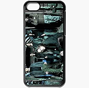 Personalized iPhone 5C Cell phone Case/Cover Skin Andre Matos Band Members Hair House Black
