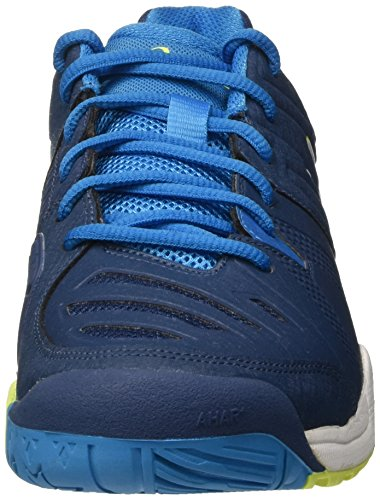 10 Homme Safety White Poseidon Yellow Tennis Gel de Asics Challenger Chaussures Bleu EOqn6Y