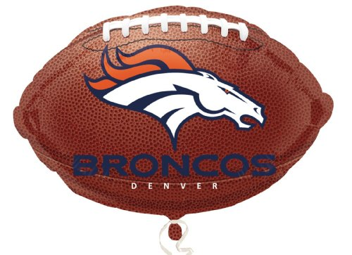 Anagram International Denver Broncos Flat Party Balloons, 18