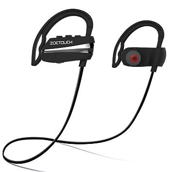 Auriculares Bluetooth ZOETOUCH, Auriculares Inalámbricos Bluetooth 4.1 In Ear con Micrófono 12 Horas Tiempo de