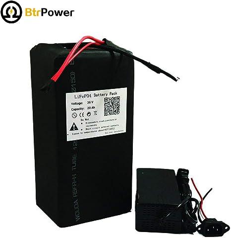BtrPower LiFe04 - Batería de Litio para Bicicleta eléctrica de ...