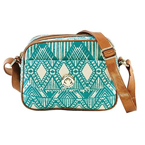 bella-taylor-tahiti-teal-creme-tribal-pattern-mini-messenger-crossbody-bag-with-zip-slip-pockets-and