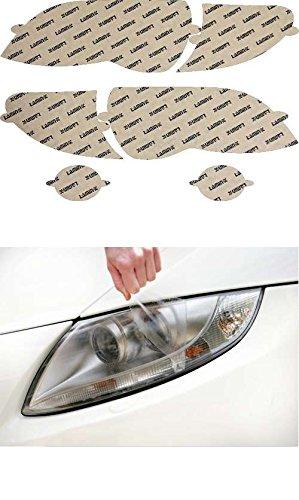 02 Clear Headlight Protection - Lamin-x B011CL Headlight Cover
