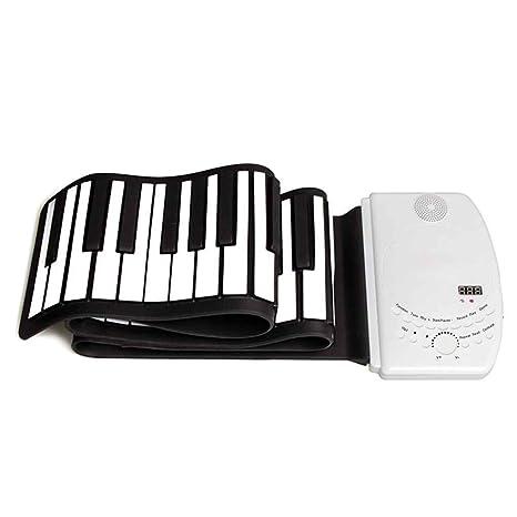 Elenxs 61 teclas de piano teclado USB MIDI instrumento musical electrónico para Niños