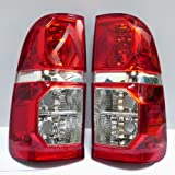 2 X Tail Back Rear Lights Toyota Hilux 2011